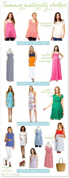 Summer Maternity Clothes - The Wise Baby....for the next round....not anytime soon