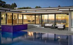 Vera Wang's house in LA.