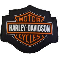 Harley Davidson® Fireball Decorative Pillow