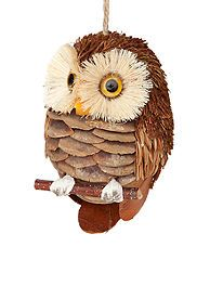 Home Accents® Craft Christmas Brown Owl Ornament (@Laura Simmons - so cute)