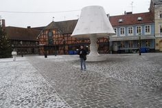 Giant Table Lamp - Malmo, Sweden