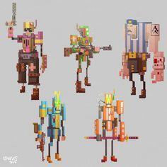 low poly pixel art - Поиск в Google