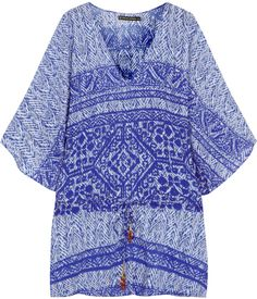 Vix Swimwear Carioca satin-jersey kaftan on shopstyle.co.uk