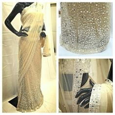 Mirror work lengha saree To purchase this contact +919879208240