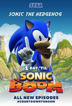 Prepare to go fast. A new Sonic Boom episode airs tomorrow on Cartoon Network at 11AM Central /12PM Eastern, with new episodes all week!