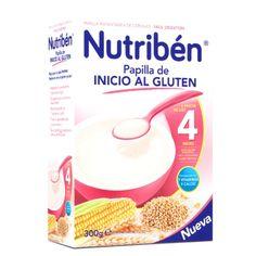 172011 Nutriben Papilla Inicio con Gluten - 300 gr.