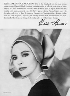 phyllis connor model for estee lauder The New Wave, Love And Respect, Estee Lauder, Make Up, Waves, Clouds, Top Models, Beautiful, French New Wave