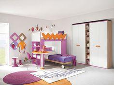 Cameretta Lilla E Arancione : Fantastiche immagini su arredissima camerette kid bedrooms