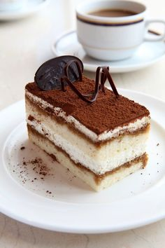 Tiramisu Cake Recipe. #recipes #cake #dessert This is my OBSESSION!!!!
