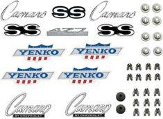 1968 Camaro SS 396 Emblem Kit Show Quality /& GM Licensed