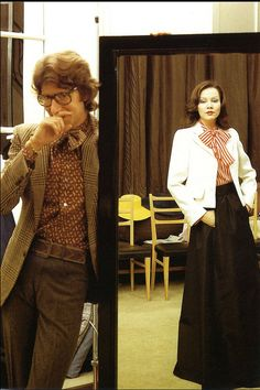 1972 Portrait of Yves Saint Laurent during preparations for the SpringSummer collection