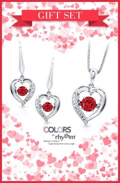 3118c48d2 Show her that your heart beats only for her with this captivating Colors in  Rhythm gift. Kay