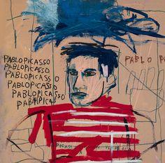 Picasso según Basquiat (1984). 3 Minutos de Arte. ✖️FOSTERGINGER AT PINTEREST ✖️ 感謝 / 谢谢 / Teşekkürler / благодаря / BEDANKT / VIELEN DANK / GRACIAS / شكر / THANKS : TO MY 10,000 FOLLOWERS✖️