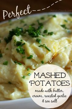 Perfect Mashed Potatoes - Holistic Squid