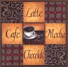 Coffee Break Art Print by Diane Weaver at Urban Loft Art