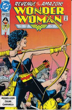 Wonder Woman 69  December 1992 Issue  DC Comics  by ViewObscura