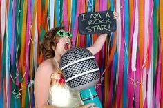 Creative Props for Wedding Photo Booth