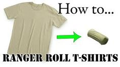 Resultado de imagen de how to fold your clothes military style
