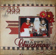 Happy Christmas - Scrapbook.com