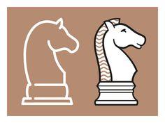 ELLIJOT chess horse icon - work in progress