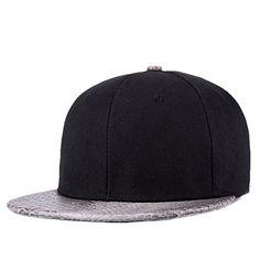 Unisex Men's PU Leather Brim Snapback Hats Cool Plain Flat Bill Hiphop Cap Trucker Fitted Hats Forwardor http://www.amazon.com/dp/B01BQDZ11C/ref=cm_sw_r_pi_dp_tmEWwb08VP156