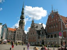 Beautiful Riga Latvia