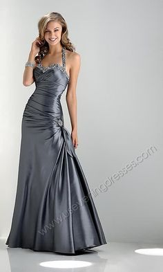 The color is EXACTLY what I want for my bridesmaid dress, not the style... too promy haha