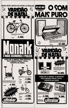 Anúncio Lojas Ultralar - Rio - 1979 Nostalgia, Old Ads, Vintage Advertisements, Vintage Posters, Childhood Memories, Advertising, Blog, Old Comics, 80s Kids