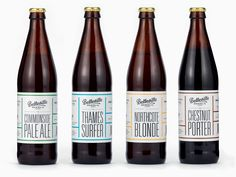 Taylor / Thomas designed the packaging for Belleville Brewing Co. which hired American lettering artist Simon Walker to craft the Belleville logo. Beverage Packaging, Bottle Packaging, Craft Beer Brands, Beer Week, Best Craft Beers, Ale, Beer Art, Wine And Beer, Best Beer