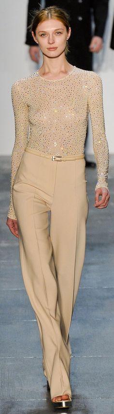 Michael Kors on the runway [ AlbertoFermaniUSA.com ] #chic #fashion #style