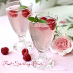 With a Grateful Prayer and a Thankful Heart: Pink Sparkling Punch- Mothers Day Brunch Baby Shower Brunch, Baby Shower Fun, Girl Shower, Fun Drinks, Yummy Drinks, Beverages, Sparkling Punch, Smoothies, Sprinkle Shower