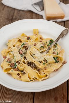 A delicious pasta dish ready in 15 minutes!