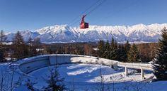 Sleighing like a Pro- Bobsleigh Track Igls Bobsleigh, Luge, Like A Pro, Innsbruck, Austria, Mount Everest, The Neighbourhood, Track, Mountains