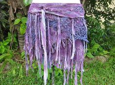 purple fairie skirt