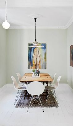 Home full of paintings - via cocolapinedesign.com
