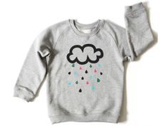 Cloud sweatshirt from Shakshuka, an eco-friendly baby boutique that sells toys, clothing and gear.