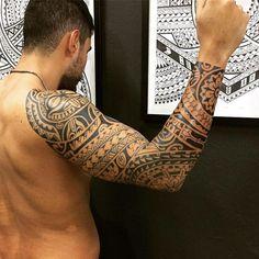 Maori Tattoos on Arm, Chest and Legs to Get Inspired maori tattoo - maori tattoo women - maori t Tribal Forearm Tattoos, Maori Tattoos, God Tattoos, Tribal Sleeve Tattoos, Marquesan Tattoos, Life Tattoos, Body Art Tattoos, Luck Tattoo, Hawaiianisches Tattoo