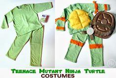 ninja turtle costume | Teenage Mutant Ninja Turtle Costumes (TMNT)