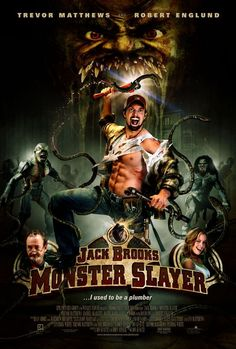 Nonton Film Online Jack Brooks: Monster Slayer Subtitle Indonesia - As a child Jack Brooks witnessed the brutal murder […] Robert Englund, Scary Movies, Hd Movies, Movies Online, Movie Film, Action Movies, Horror Posters, Horror Films, Movie Posters