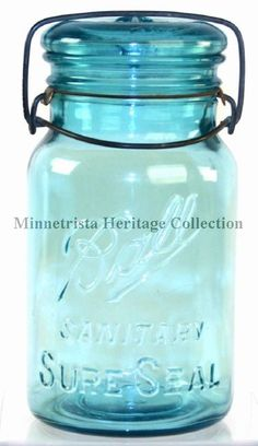 Ball Sanitary Sure Seal Jar. Year range is from 1913-1914.