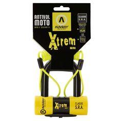 ΑΝΤΙΚΛΕΠΤΙΚΑ ΠΡΟΣΤΑΣΙΑ : Κλειδαριά δισκόφρενου Auvray XTREM Mini Yellow/Black Yellow Black, Mini, Locks, Detail, Door Latches, Castles