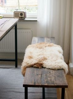 Who says rugs are just for floors? Add a baby soft sheepskin to sofas, rocking chairs, benches and bedsides for a look of rustic luxury. #modernsPIN