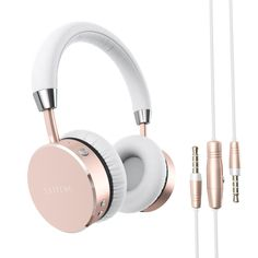 Amazon.com: Satechi Aluminum Bluetooth Wireless Headphones with 3.5mm Audio-out Jack for iPhone 6, Samsung Galaxy S6 and more Smartphones and Tablets - Features Enhanced Bass (Gold): Cell Phones & Accessories