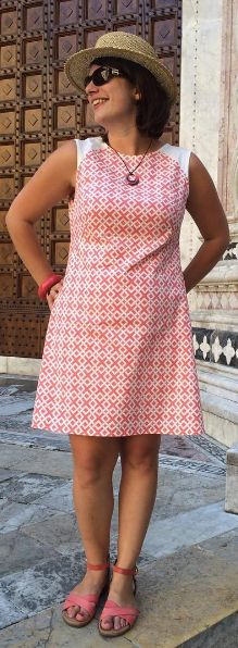 Ginger's Francoise dress - sewing pattern by Tilly and the Buttons