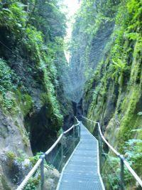 Ruta: canyons (gorges) de la fou