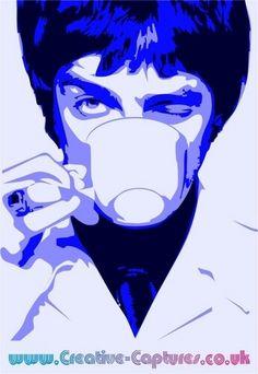 Oasis Music, Noel Gallagher, Art Pictures, Art Pics, Rockn Roll, Arte Pop, Art Photography, Joker, Fan Art
