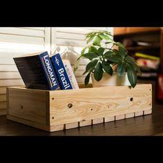 Деревянный ящик из сосны для хранения чего угодно) . Декор. Wooden crate made of pine. Wooden crate. Wine crate.