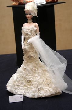 White Rose: NOTE:  Went crazy with Barbie Couture, but truly indicative of fashion through the years! Sorry! ;)