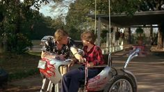 Gary Busey and Corey Haim in Silver Bullet 1980s Horror Movies, Horror Films, It Movie Cast, Movie Tv, The Stepfather, Corey Haim, Horror Tale, Cinema, Movies