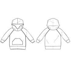 free pattern: hooded raglan sweatshirt : 67